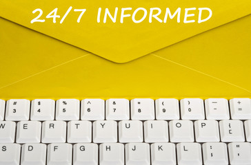 24/7 informed message