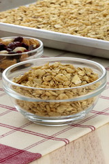 fresh from the oven healthy granola