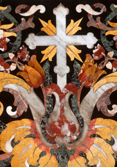 Cross, detail of the altar, Dubrovnik cathedral