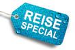Reise Special Etikett