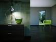 Wohndesign - grüner Stuhl