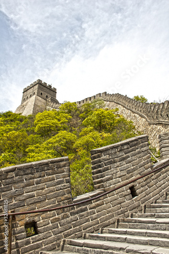 Fotobehang Chinese Muur The Great Wall in China