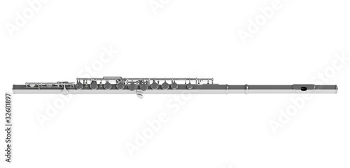 Concert flute - 32681897