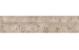 Old  measure in centimeters, millimeters, isolated