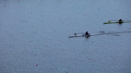 race on rowing