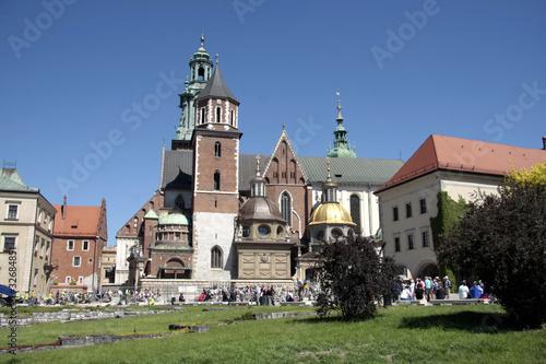 Vue d'ensemble de Wawel, Cracovie - 32684851