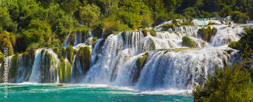 Waterfall KRKA in Croatia - 32687892