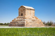 The tomb of Cyrus  in Pasargad. Iran