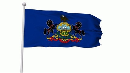 Fahne Pennsylvania PAL