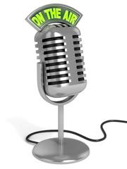 microphone 3d illustration