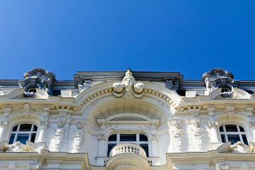House facade detail