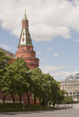 Arsenal tower at Kremlin, Russia
