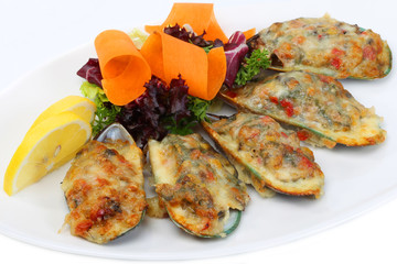 Mussels in Batter