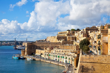 View of old Valletta