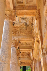Library of Celsus ceiling