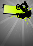 Fototapety Motocross poster 1
