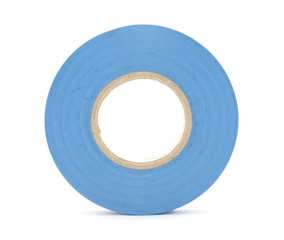 Insulating (Electrical) Tape Isolated on White Background