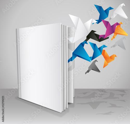 Free your knoledge, Blank Book, Creative Book Presentation.