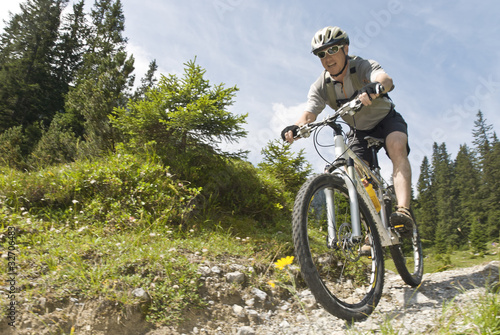 Spass mit dem Mountainbike - 32706483
