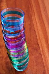 bicchieri multicolor