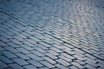 Blue Cobblestone Texture
