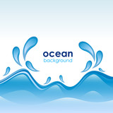 Ocean Background # Vector
