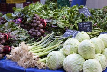 Puesto de hortalizas