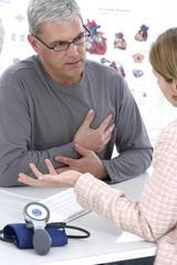 Troubles cardiaques, consultation