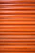 part of metal gate, orange