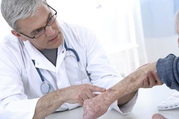 consultation  en dermatologie