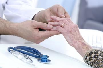 Arthrose - consultation à l'hôpital