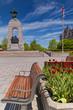 The National War Memorial in Ottawa, Canada.