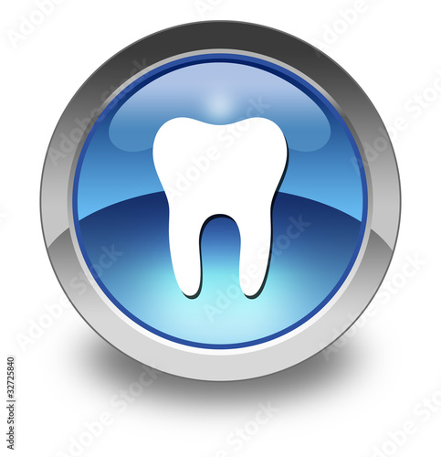 "Glossy Pictogram ""Dental Medicine / Dentistry"""