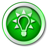 Ecologic energy icon