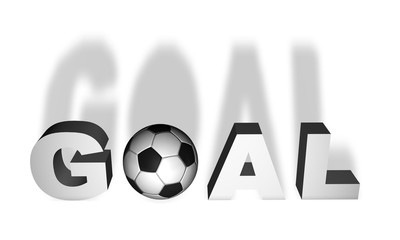 Goal word 3D