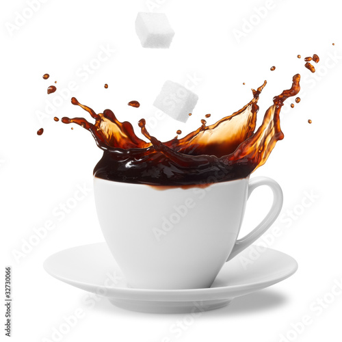 coffee splashing - 32730066