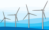 wind generators or wind turbines