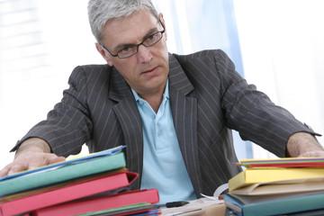 stress et surmenage au bureau
