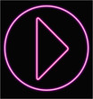 bouton neon play