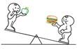 figur ernährungsschaukel
