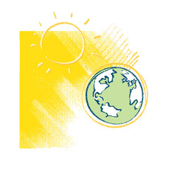 Earth and Sun - icon