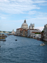 Venice - View of Canal Grande and Salute