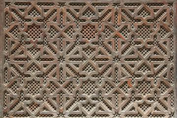 Morrocan woodwork details