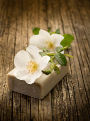 natural flower soap