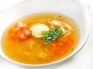 soup, broth
