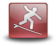 "Red 3D Effect Icon ""Surfing"""