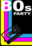 80s Party Poster poster