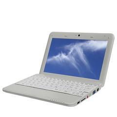 Netbook - Himmel auf Display