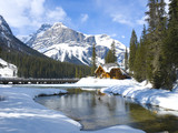 Fototapety Emerald Lake, Canadian Rockies