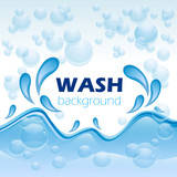 Wash background # Vector